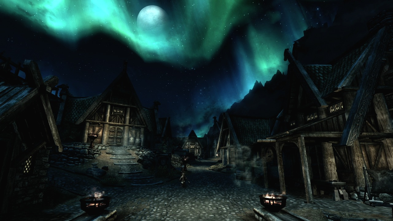 Skyrim has some beathtaking scenery