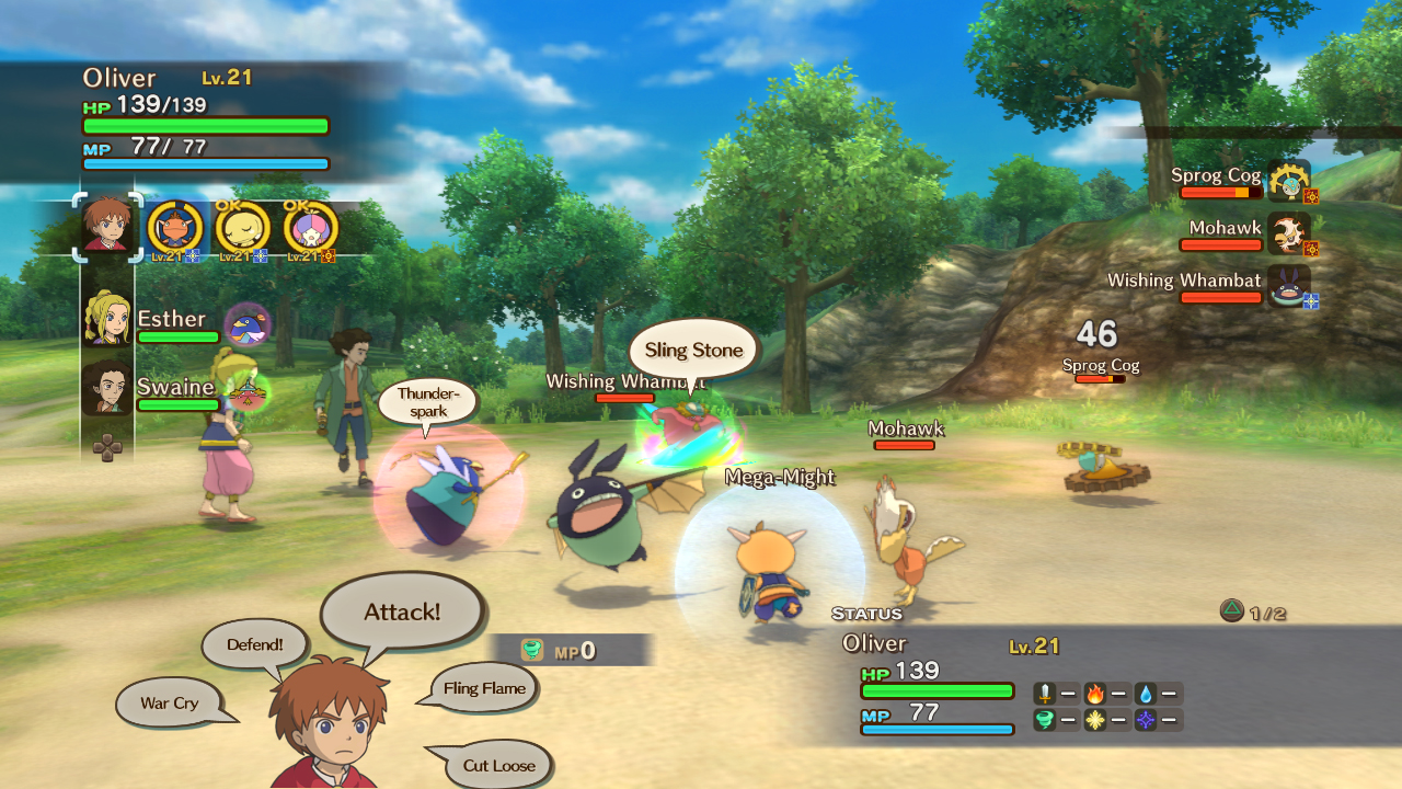 Ni No Kuni: Wrath of the White Witch - Noobfeed FACTS 2012 Hands-on Preview